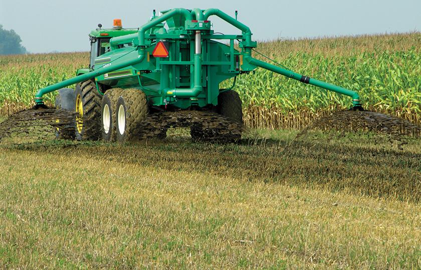 敷藁を含む高濃度マニュア用地表散布ツールバー
