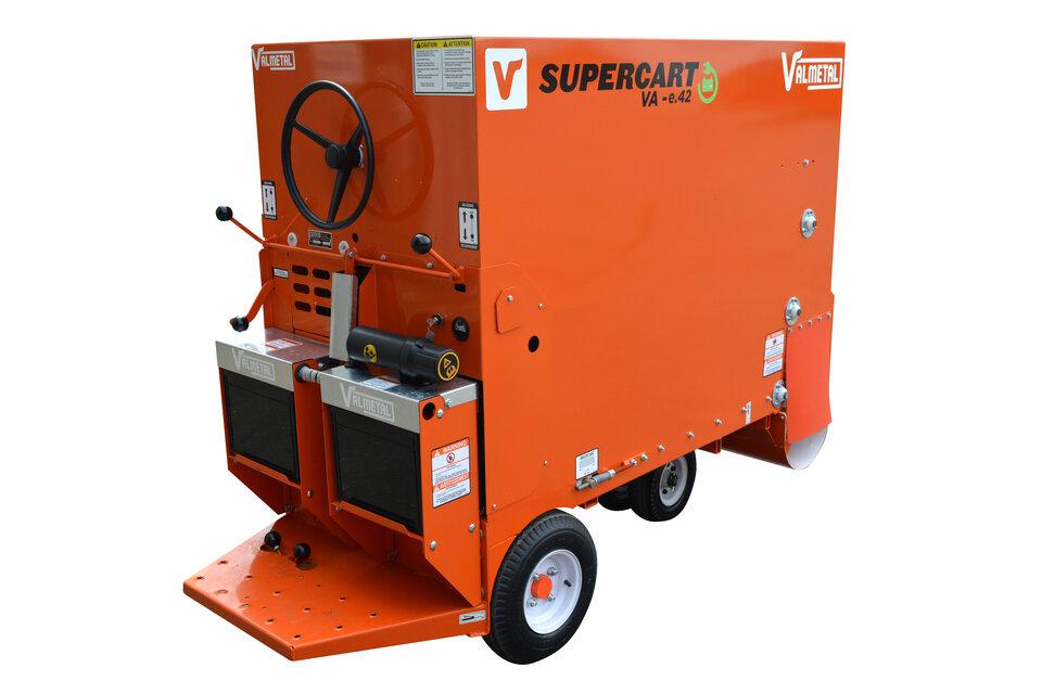 電動モーター式給餌車Supercart.E