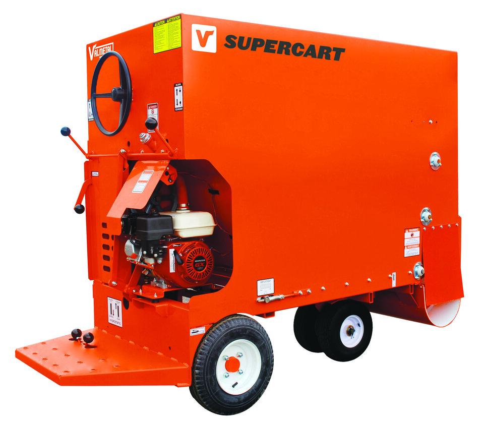 エンジン式給餌車Supercart