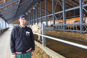 牛が自由に歩き回れるコンセプトに共感してLELYを選びました
